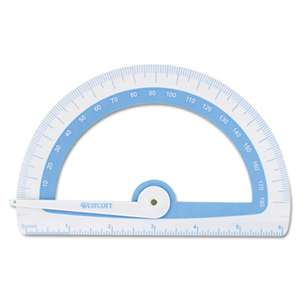 ACME UNITED CORPORATION Soft Touch School Protractor With Microban Protection, Assorted Colors