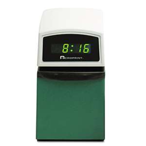 ACRO PRINT TIME RECORDER ETC Digital Automatic Time Clock with Stamp