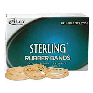 ALLIANCE RUBBER Sterling Rubber Bands Rubber Bands, 33, 3 1/2 x 1/8, 850 Bands/1lb Box