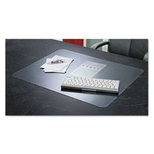 ARTISTIC LLC KrystalView Desk Pad with Microban, Matte, 17 x 12, Clear