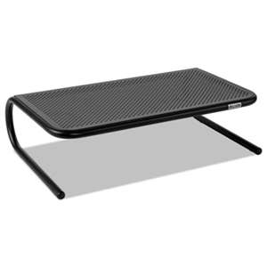 Allsop 30336 Metal Art Monitor Stand, 18 1/2 x 12 1/4 x 5 1/4, Black