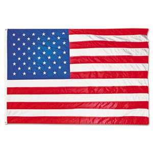 ADVANTUS CORPORATION All-Weather Outdoor U.S. Flag, Heavyweight Nylon, 4 ft x 6 ft