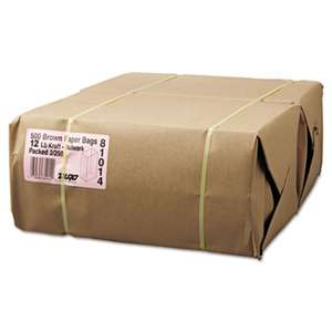 GENERAL SUPPLY #12 Paper Grocery, 57lb Kraft, Extra-Heavy-Duty 7 1/16x4 1/2 x13 3/4, 500 bags