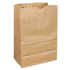 GENERAL SUPPLY 1/6 40/40# Paper Grocery Bag, 40lb Kraft, Standard 12 x 7 x 17, 400 bags