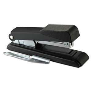 STANLEY BOSTITCH B8 PowerCrown Flat Clinch Premium Stapler, 40-Sheet Capacity, Black