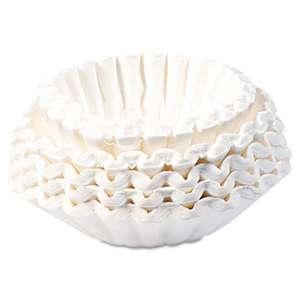 BUNN-O-MATIC Commercial Coffee Filters, 12-Cup Size, 1000/Carton