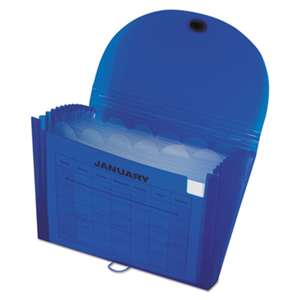 C-LINE PRODUCTS, INC Specialty Expanding Files, Letter, 13-Pocket, Blue