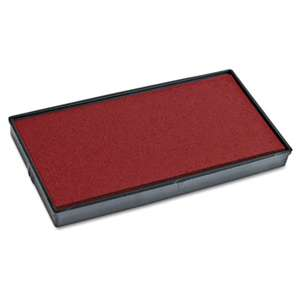 CONSOLIDATED STAMP Replacement Ink Pad for 2000PLUS 1SI15P, Red