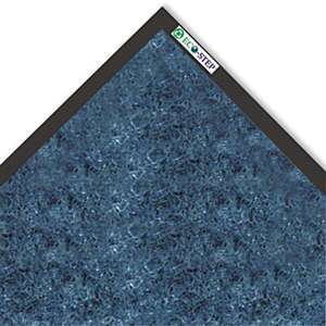 CROWN MATS & MATTING EcoStep Mat, 36 x 60, Midnight Blue