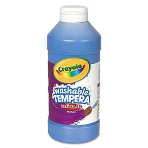 BINNEY & SMITH / CRAYOLA Artista II Washable Tempera Paint, Blue, 16 oz
