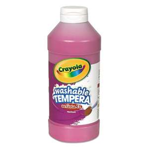 BINNEY & SMITH / CRAYOLA Artista II Washable Tempera Paint, Magenta, 16 oz