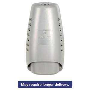 "DIAL PROFESSIONAL Wall Mount Air Freshener Dispenser, 3 3/4"" x 3 1/4"" x 7 1/4"", Silver"