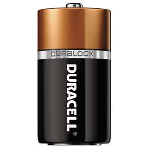 Duracell MN1400 CopperTop Alkaline Batteries with Duralock Power Preserve Technology, C, 72/CT