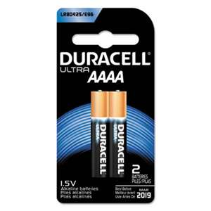 Duracell MX2500B2PK Ultra Photo AAAA Battery, 2/CT