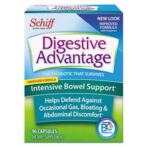 RECKITT BENCKISER Probiotic Intensive Bowel Support Capsule, 96 Count, 36/Carton