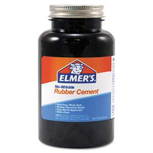 ELMER'S PRODUCTS, INC. Rubber Cement, Repositionable, 8 oz