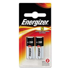 Energizer E90BP2 Watch/Electronic/Specialty Batteries, N, 2 Batteries/Pack