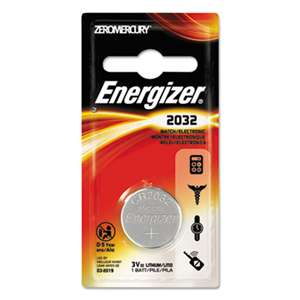 Energizer ECR2032BP Watch/Electronic/Specialty Battery, 2032, 3 Volt