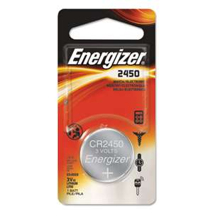 Energizer ECR2450BP Watch/Electronic/Specialty Battery, 2450
