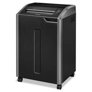 FELLOWES MFG. CO. Powershred 485i 100% Jam Proof Continuous-Duty Strip-Cut Shredder, TAA Compliant