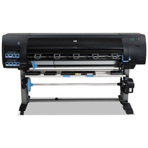 "HP CQ111B Designjet Z6200 60"" Wide-Format Inkjet Photo Printer, Encrypted Hard Disk Drive"