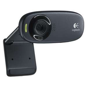 LOGITECH, INC. HD C310 Portable Webcam, 5MP, Black