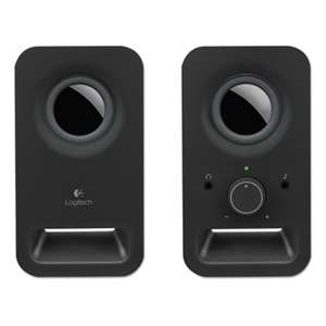 LOGITECH, INC. Z150 Multimedia Speakers, Black