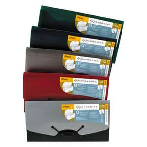 MEAD PRODUCTS Expandables 13-Pocket Expanding File, Check Size, Assorted