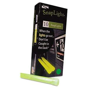 "MILLER'S CREEK Snaplights, 6""l x 3/4""w, Green, 10/Pack"