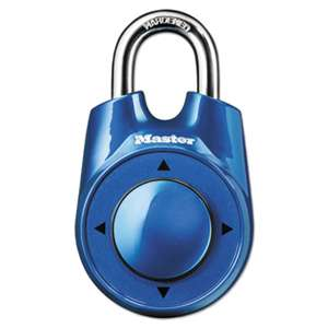 "MASTER LOCK COMPANY Speed Dial Set-Your-Own Combination Lock, 2"" Wide, Assorted"