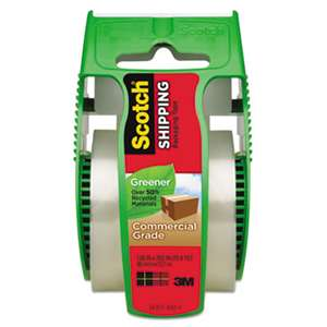 "Scotch 175G Greener Commercial Grade Packaging Tape, 1.88"" x 19.4yds, 1 1/2"" Core"