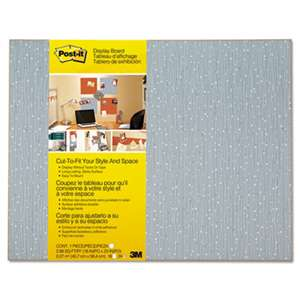 3M/COMMERCIAL TAPE DIV. Cut-to-Fit Display Board, 18 x 23, Ice, Frameless
