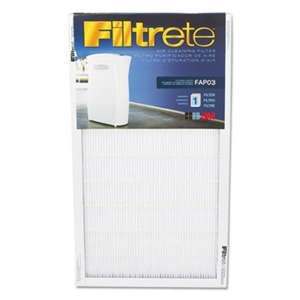 "3M/COMMERCIAL TAPE DIV. Air Cleaning Filter, 11 3/4"" x 21 1/2"""