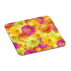 "3M/COMMERCIAL TAPE DIV. Mouse Pad with Precise Mousing Surface, 9"" x 8"" x 1/8"", Daisy Design"