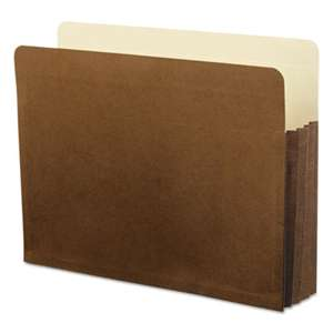 ESSELTE PENDAFLEX CORP. Watershed 3 1/2 Inch Expansion File Pockets, Straight Cut, Letter, Redrope