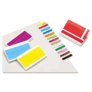 REDI-TAG CORPORATION Removable/Reusable Page Flags, 13 Assorted Colors, 240 Flags/Pack