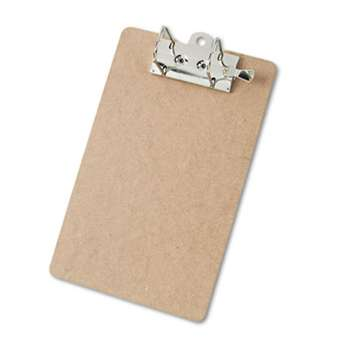 "SAUNDERS MFG. CO., INC. Arch Clipboard, 2"" Capacity, Holds 8 1/2""w x 12""h, Brown"
