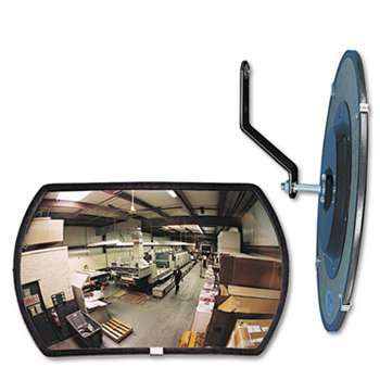 "SEE ALL INDUSTRIES, INC. 160 degree Convex Security Mirror, 18w x 12"" h"