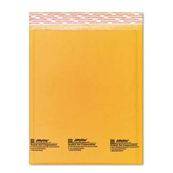 ANLE PAPER/SEALED AIR CORP. Jiffylite Self-Seal Mailer, Side Seam, #2, 8 1/2 x 12, Golden Brown, 10/Pack