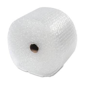 "ANLE PAPER/SEALED AIR CORP. Recycled Bubble Wrap?, Light Weight 5/16"" Air Cushioning, 12"" x 100ft"