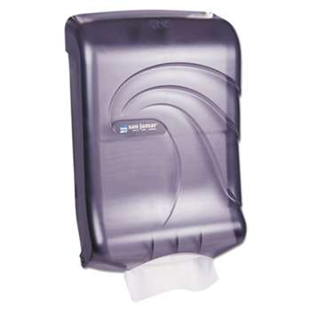 THE COLMAN GROUP, INC Ultrafold Multifold/C-Fold Towel Dispenser, Oceans, Black, 11 3/4 x 6 1/4 x 18