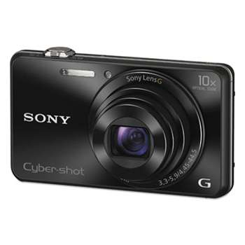 SONY ELECTRONICS, INC. DSC-WX220/B Compact Point and Shoot Digital Still Camera, Black