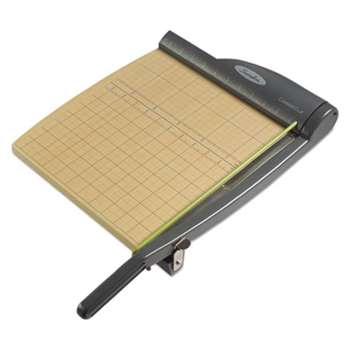 ACCO BRANDS, INC. ClassicCut Pro Paper Trimmer, 15 Sheets, Metal/Wood Composite Base, 12 x 12