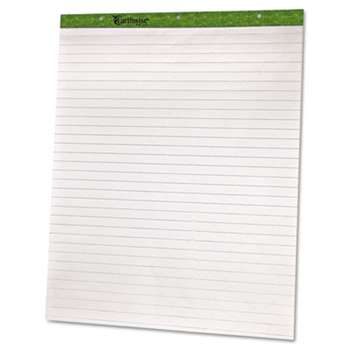 AMPAD/DIV. OF AMERCN PD&PPR Flip Charts, 1 Ruled, 27 x 34, White, 50 Sheets, 2/Pack