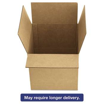 GENERAL SUPPLY Brown Corrugated - Fixed-Depth Shipping Boxes, 12l x 9w x 6h, 25/Bundle