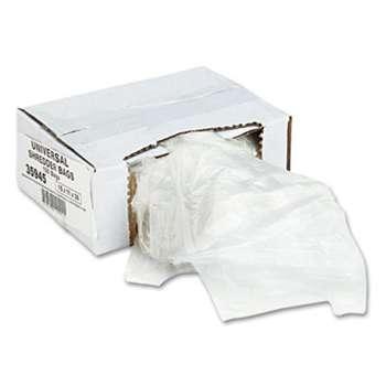 UNIVERSAL OFFICE PRODUCTS High-Density Shredder Bags, 16 gal Capacity, 100/Box