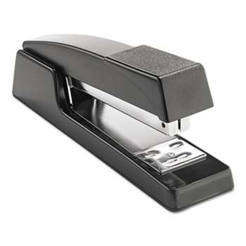 "UNIVERSAL OFFICE PRODUCTS Classic Full-Strip Stapler, 15-Sheet Capacity, 3 1/2"" Throat, Black"