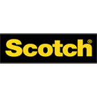 "Scotch R103VPC Restickable Mounting Tabs, 1/2"" x 1/2"", Clear, 108/Pack"
