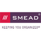 "SMEAD MANUFACTURING CO. 5 1/4"" Exp Partition Wallet, Cord, 6-Pocket, Letter, Redrope Printed"